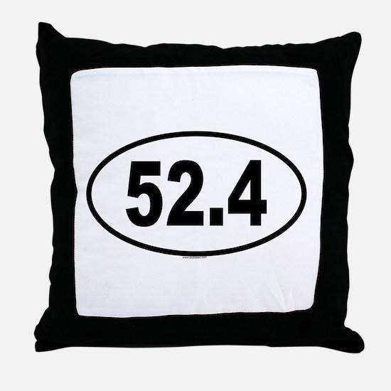 52.4 Throw Pillow
