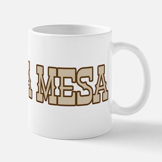 la mesa (western) Mug