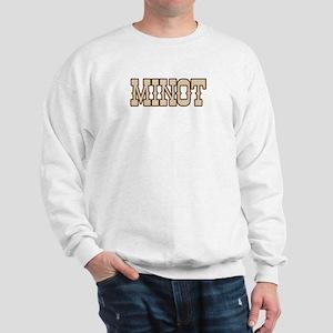 minot (western) Sweatshirt
