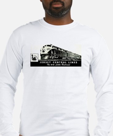 Jersey Central Lines Long Sleeve T-Shirt