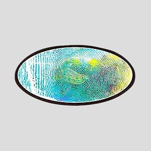 Blue Thumbprint Patch