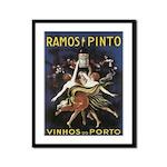 Portugal Vintage Wine Ad Framed Print