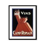 Vintage Wine Ad Framed Print