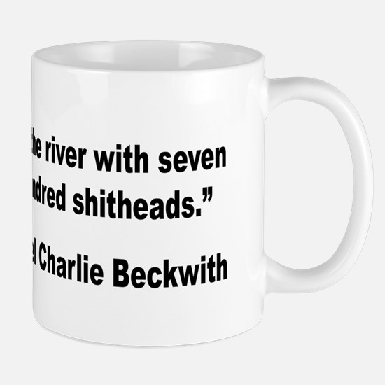 Beckwith Seven Studs Quote Mug