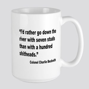 Beckwith Seven Studs Quote Large Mug