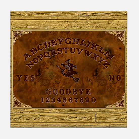 Ouija Board Witchy Tile Coaster