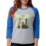 Service Trout Womens Baseball Tee