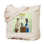 Service Trout Tote Bag
