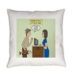 Service Trout Everyday Pillow
