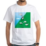 Hiking Sheep Men's Classic T-Shirts