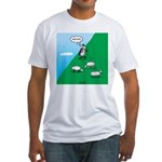 Hiking Sheep Fitted T-Shirt