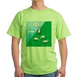 Hiking Sheep Green T-Shirt
