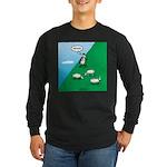 Hiking Sheep Long Sleeve Dark T-Shirt