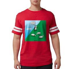 Hiking Sheep Mens Football Shirt