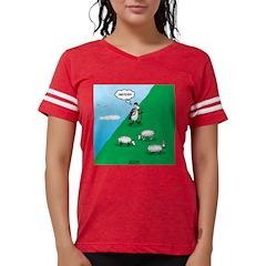 Hiking Sheep Womens Football Shirt
