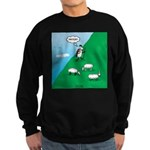 Hiking Sheep Sweatshirt (dark)