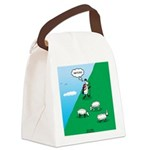 Hiking Sheep Canvas Lunch Bag