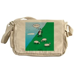 Hiking Sheep Messenger Bag