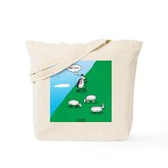 Hiking Sheep Tote Bag