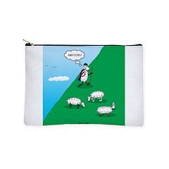 Hiking Sheep Makeup Bag