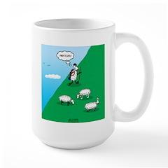 Hiking Sheep Mug