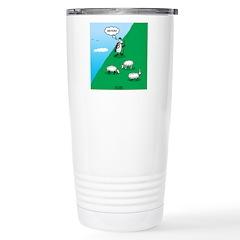 Hiking Sheep Travel Mug