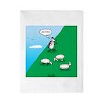 Hiking Sheep Twin Duvet Cover