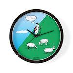 Hiking Sheep Wall Clock