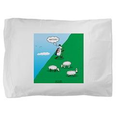Hiking Sheep Pillow Sham
