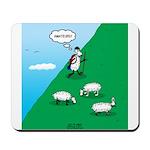 Hiking Sheep Mousepad