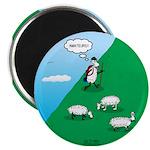 Hiking Sheep Magnet