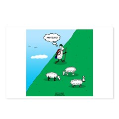Hiking Sheep Postcards (Package of 8)