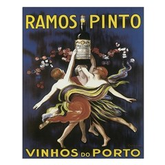 Portugal Vintage Wine Ad Unframed Print
