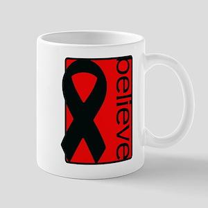 Red (Believe) Ribbon Mug