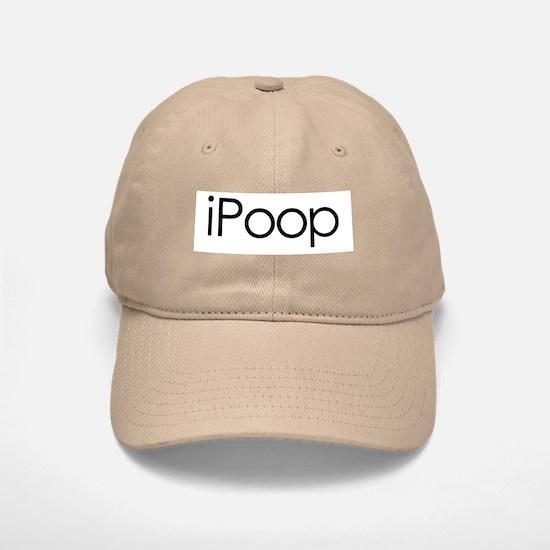 iPoop Baseball Baseball Cap