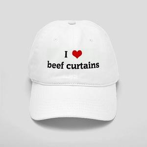 I Love beef curtains Cap