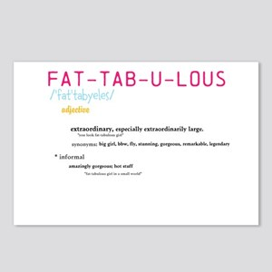 Fat-tab-ulous Postcards (Package of 8)