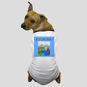 kyujutsu archery Dog T-Shirt