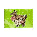 nanny goat Rectangle Magnet