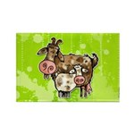 nanny goat Rectangle Magnet (100 pack)