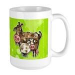 nanny goat Large Mug