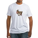 nanny goat Fitted T-Shirt