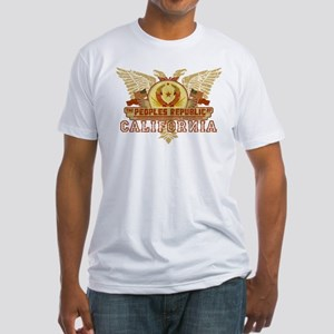 Peoples Rep Of CA Fitted T-Shirt