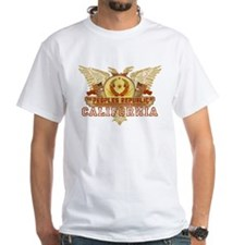 Peoples Rep Of CA White T-Shirt