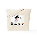 Cat Love Comes Tote Bag