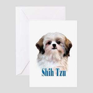 Shih Tzu Name Greeting Card