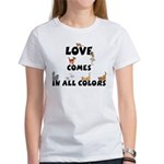 Cat Love Comes Women's T-Shirt
