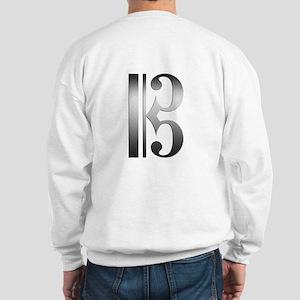 """Silver"" C Clef Sweatshirt"
