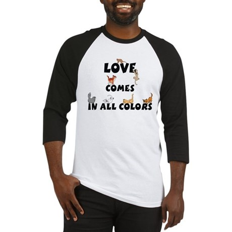 Cat Love Comes - Baseball Jersey
