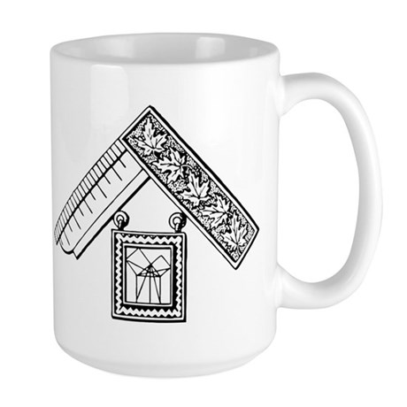 Past Master's Jewel No. 3 Large Mug
